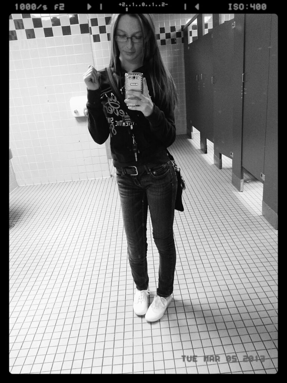 Basic. Vans. Hoodie Weather.  Aeropostale.  Douchebag Bathroom Pic.