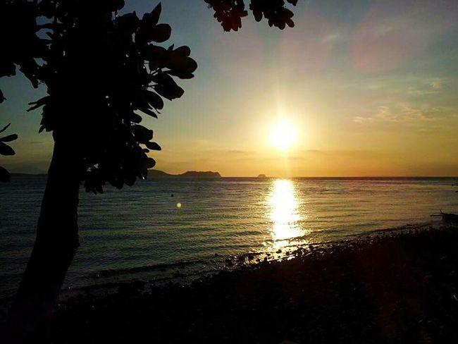 Natural Beauty Island Life Beautiful View Relaxing Moments Anilao, Batangas Silhouette