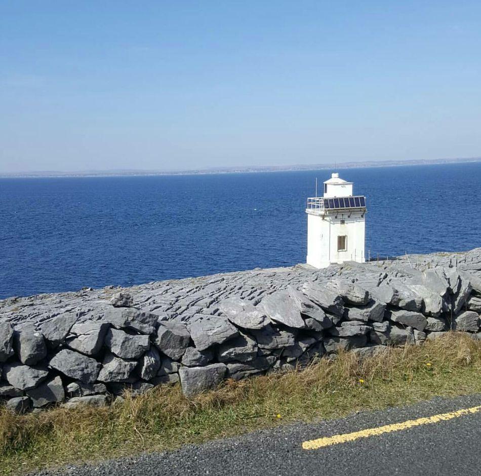 The Burren County Clare Burren Irish Landscape Wild Atlantic Way Atlantic Ocean Ireland🍀 Ireland Ireland Lovers Lighthouse Tranquility Outdoors Horizon Over Water Travel Destinations Sea No People Scenics Sky Blackhead Fanore, Ireland Summer Galway Bay Ballyvaughan