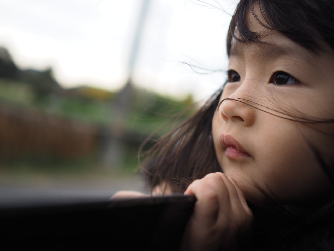 Beautiful stock photos of kids,  2-3 Years,  Asian Appearance,  Brown Hair,  Casual Clothing