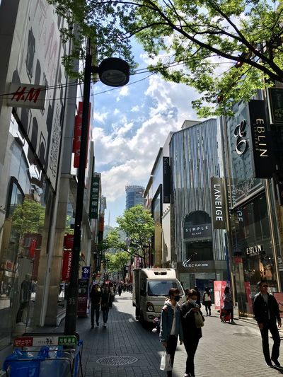 Architecture Building Exterior Built Structure City Street Walking Sky Day Tree Outdoors Men Real People Pedestrian Adult People Adults Only