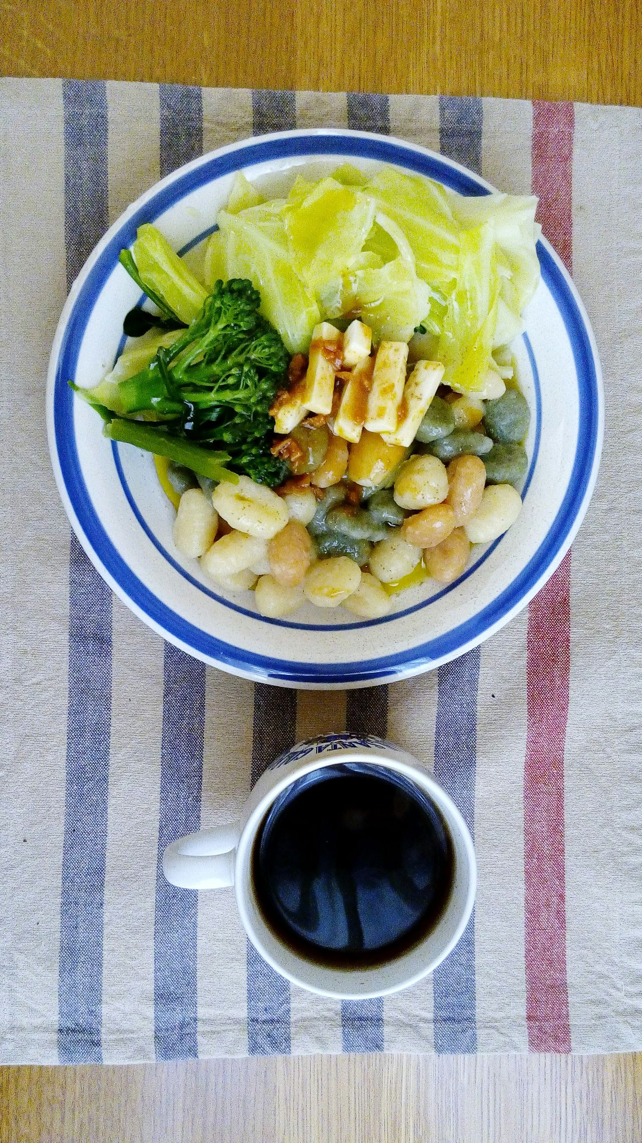 Gnocci Gnocchi Di Patate GNOCCHI🍴 Pasta Lunch Breakfast Lunch Time Food And Drink Food Table Japan Holiday Winter Tea Tea Time Plate Lunch Plate Vegetable Vegetables Potato Home Made