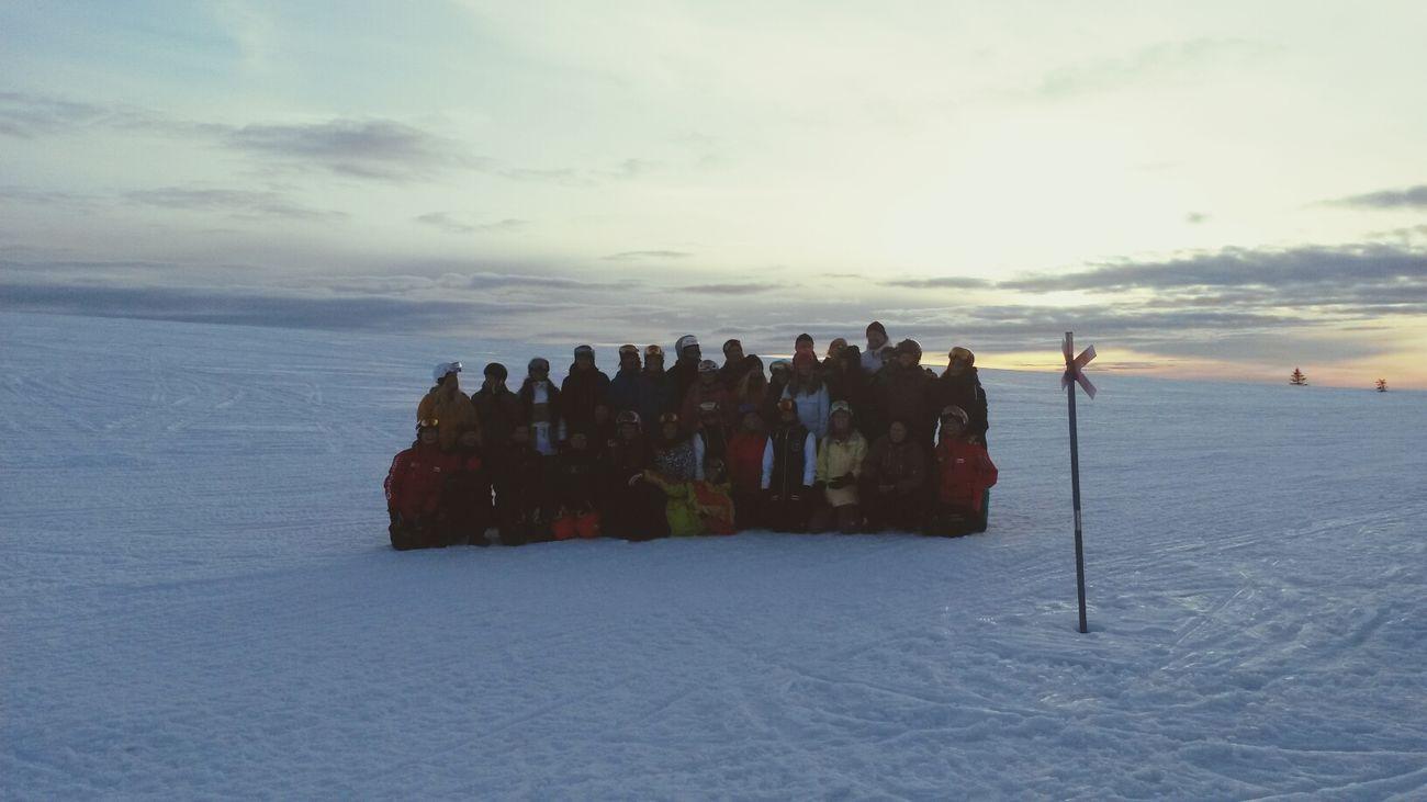 Skoter  Solnedgång Winter Wonderland Sälen ♡ skotertur med jobbet