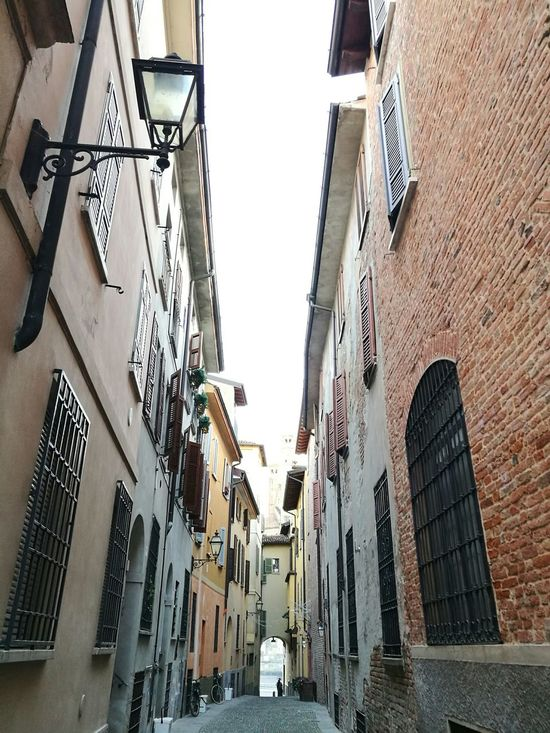 Building Exterior Architecture City Outdoors Low Angle View Day Sky Built Structure HuaweiP9 Vintage Cremona Architecture
