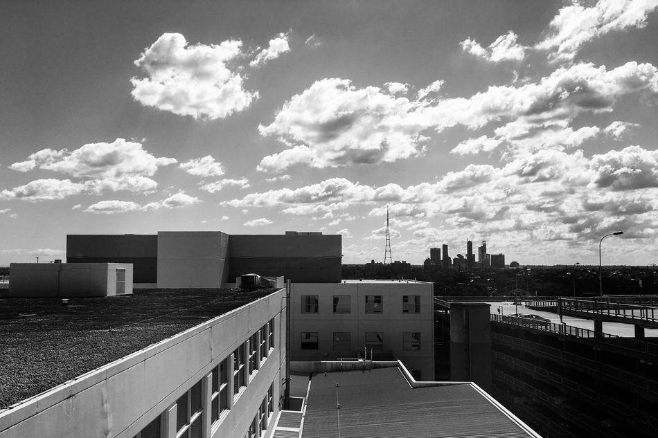 Shadows & Lights Monochrome Architecture Cloud - Sky Sky Day