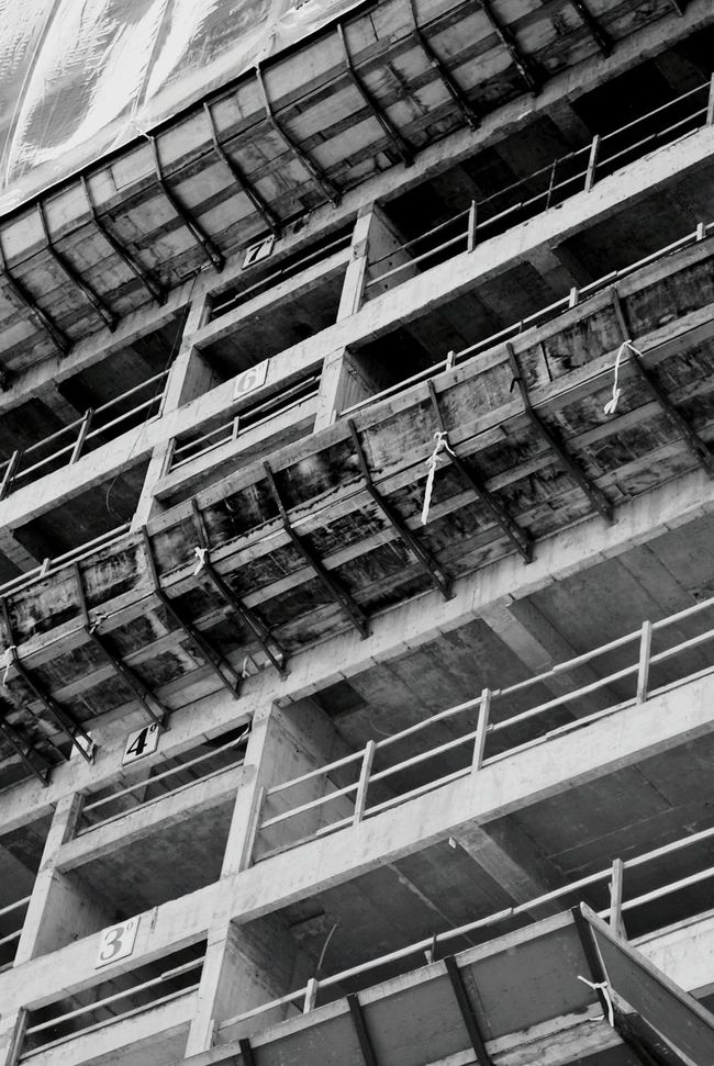 Under construction Brick Wall Architecture Built Structure Under Construction Underconstruction  City Life Structure Textured  Concrete Concrete Jungle Concrete Texture Blackandwhite Black And White Black & White Bnw Bw EyeEm Best Shots EyeEmBestPics The Week On Eyem City Walls Streetphotography Grey Grayscale Outdoors Construction