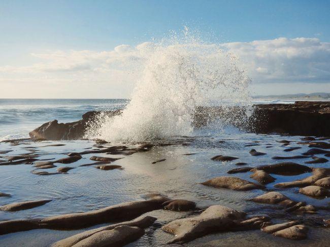 Beach Photography Seascape Wave Splash Waves Crashing Murwaibeach Waves, Ocean, Nature My Amazing View