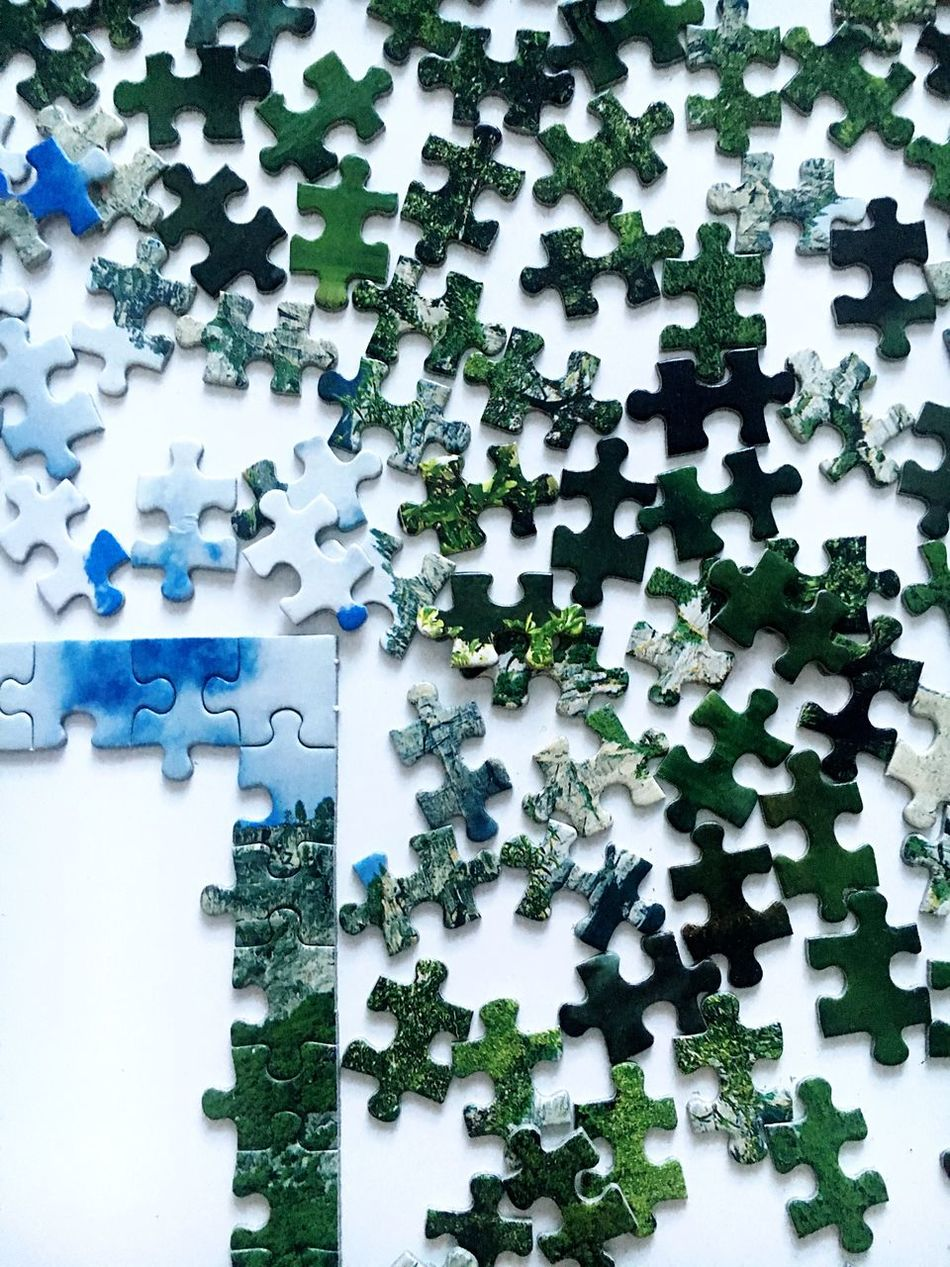 Beautiful stock photos of puzzle, Challenge, Connection, Creativity, Green Color