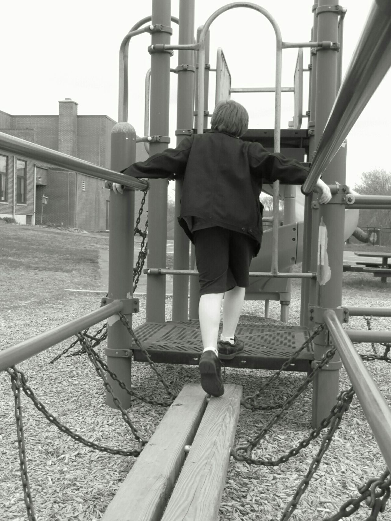 What I Value: time to play Kids Untold Stories Monochrome Blackandwhite Childsplay Playgrounds The Following [he's got half of my heart, i must follow]