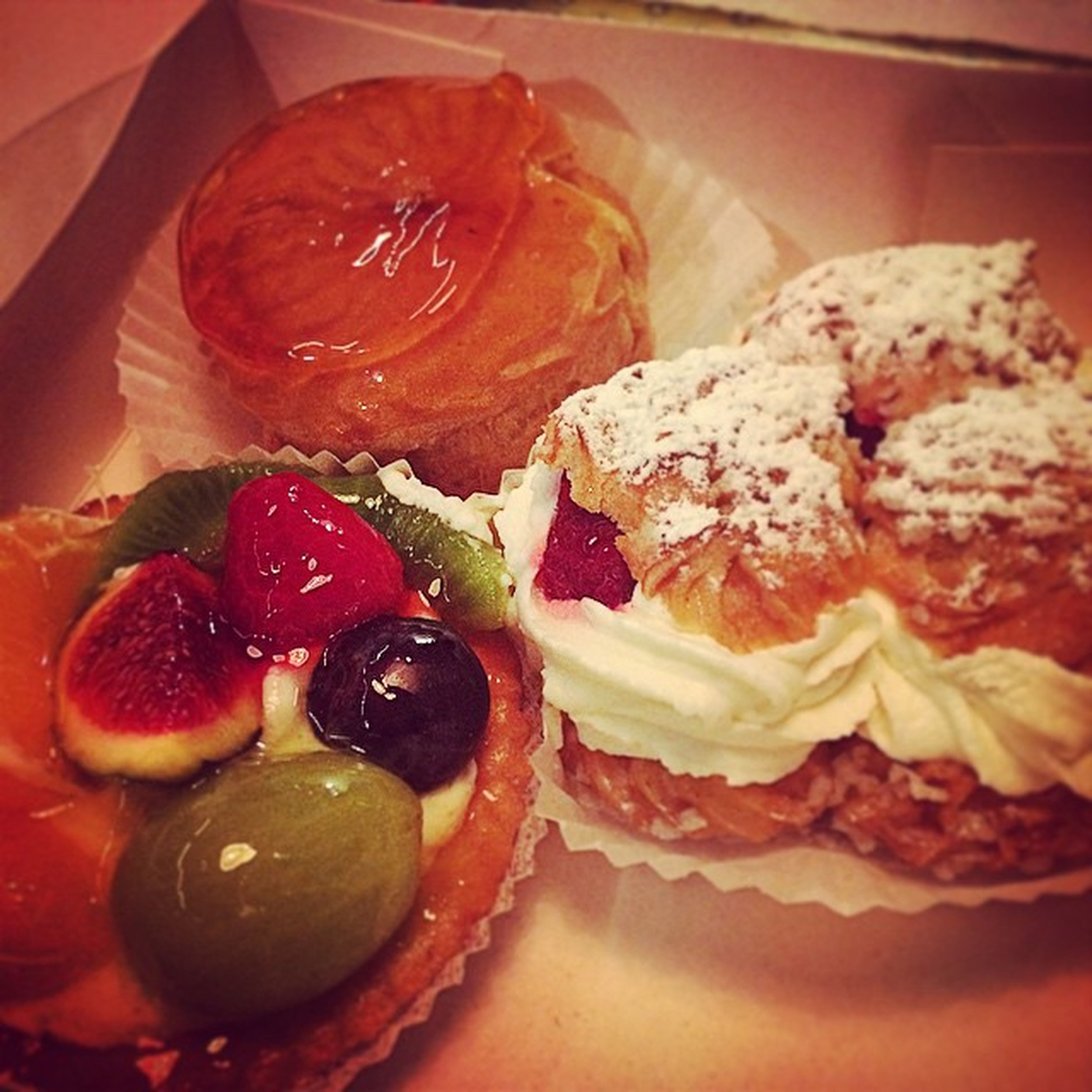 food and drink, food, freshness, indoors, ready-to-eat, sweet food, indulgence, still life, dessert, unhealthy eating, plate, close-up, serving size, strawberry, temptation, table, cake, fruit, baked, slice