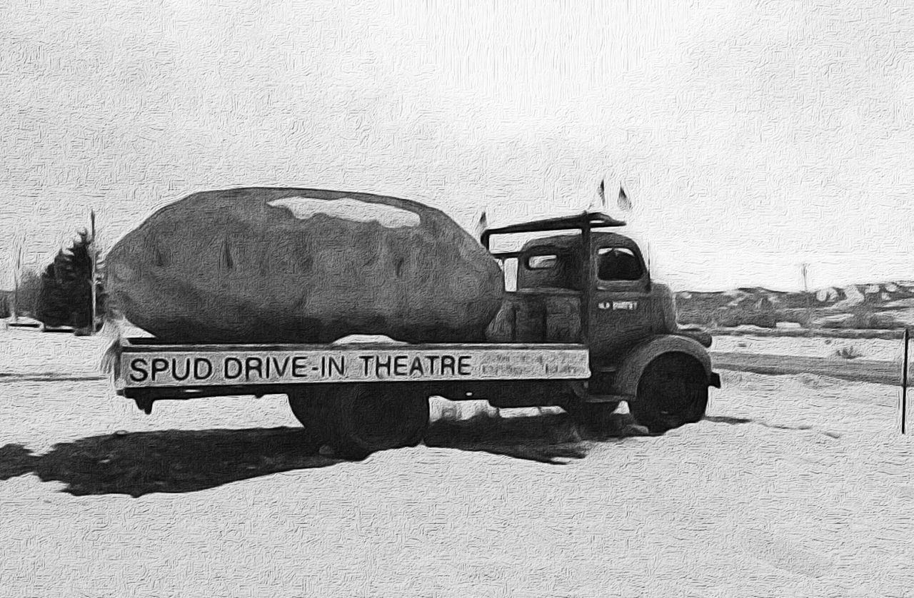 Spud  Drive-in Theater Driggs Driveinmovie The Traveler - 2015 EyeEm Awards