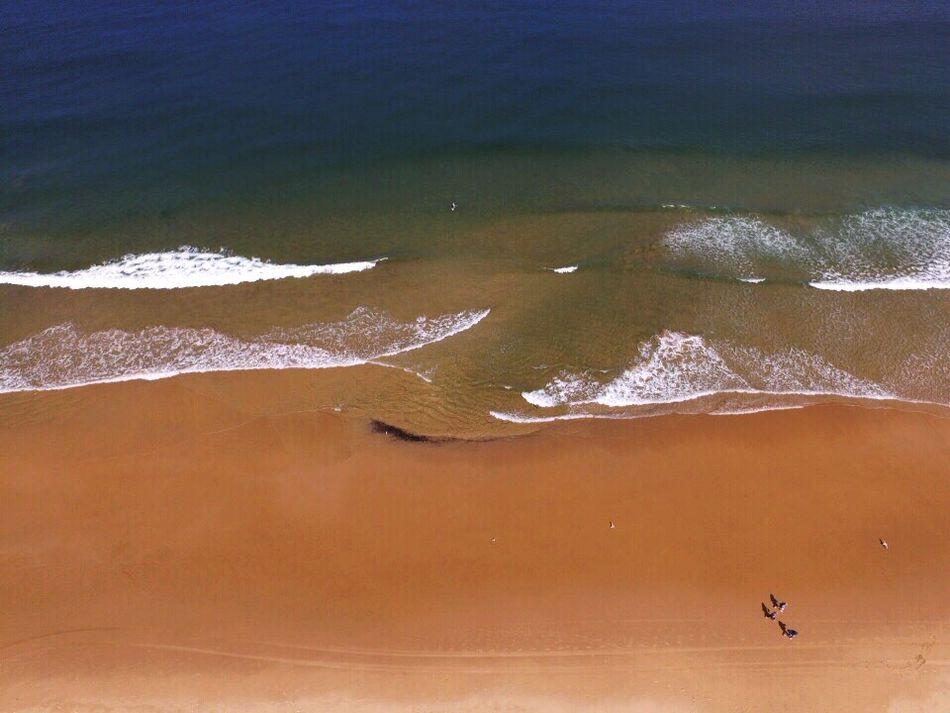 Flying High Drone  Dronephotography Droneshot Aerial Shot Aerial View Aerial Photography High Angle View Beach Ocean Sea Sand NSW Australia Australia Sydney Dcdeoliveira Iceintheattic