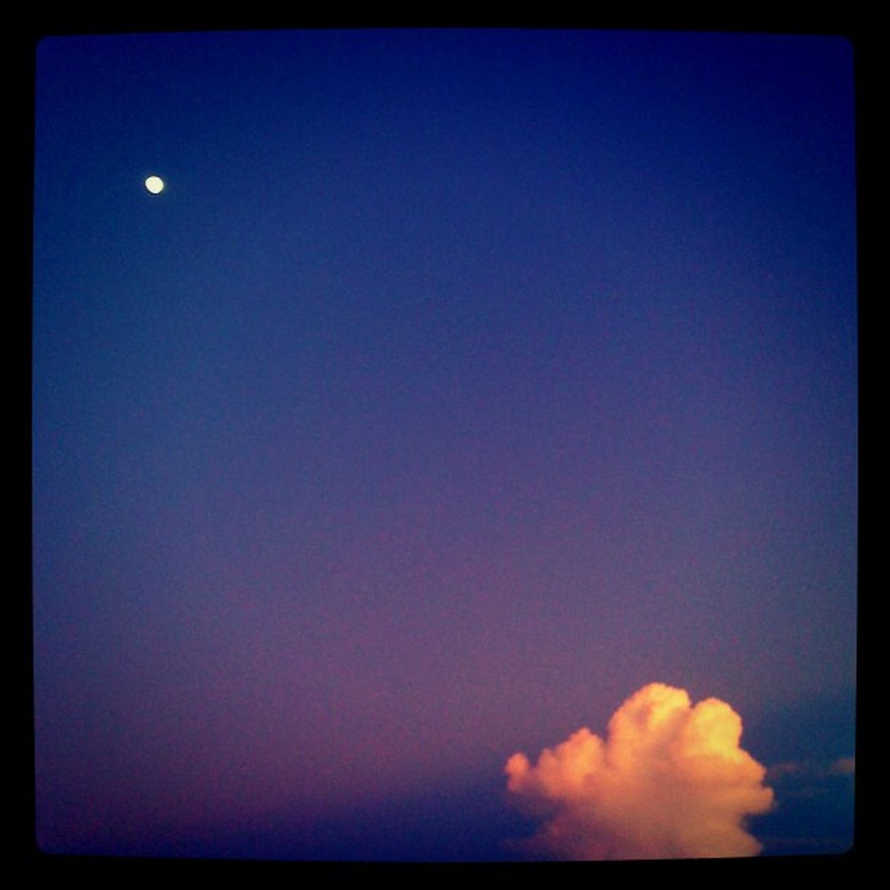 Sunset by the Moon 7:34 PM Iphonegraph Iphonegraphy dominican its nice to see how this cloud get her last piece of sun light