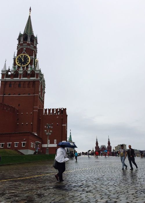Wet morning at the Red Square Traveling Rus2015tc