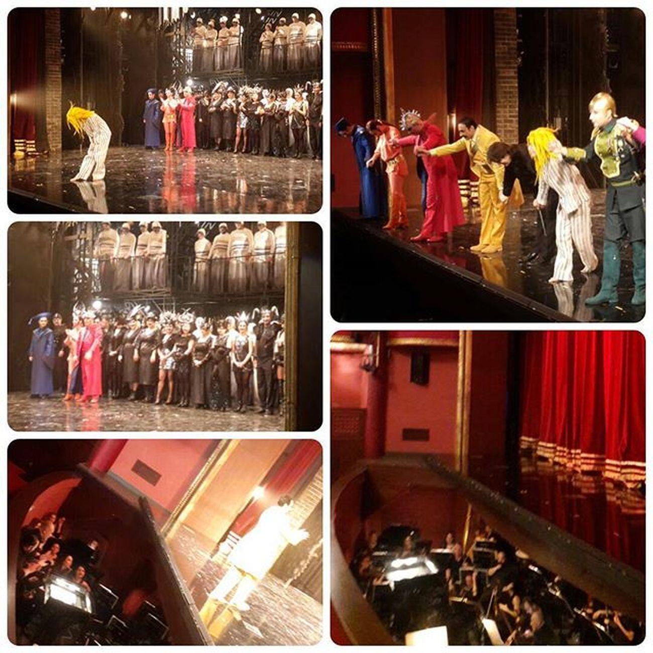 Alkışlayanlar ve alkışlananlar...Büyük emekle sahneye koyulmuş bir eser...Faust 🎵🎺🎻🎶😊💞Emeği geçen herkese teşekkürler Gounod Devletoperavebalesi Opéra Instaturkey Sureyyaoperasi Music Turkishfollowers Instaturkiye Turkinstagram Anilarinisakla Igturko Ig_turkey Classicalmusic Istanbuldevletoperavebalesi Instaopera İDOB