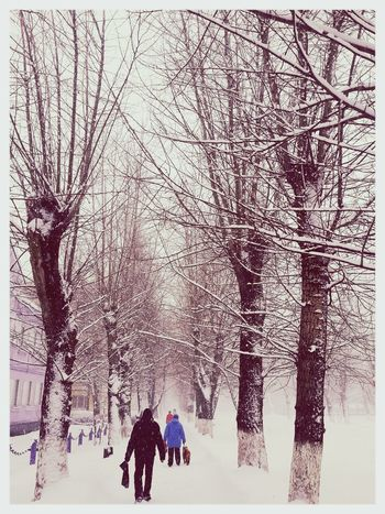 Winter Happy People February Love