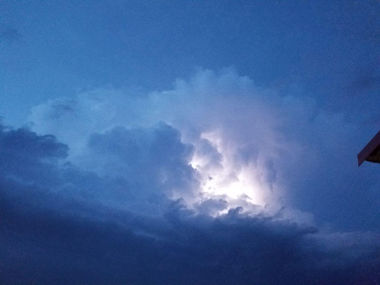 Lightning behind clouds Lightning Storm Sky Dark Clouds Nature Light Bright Ujustgotkaied