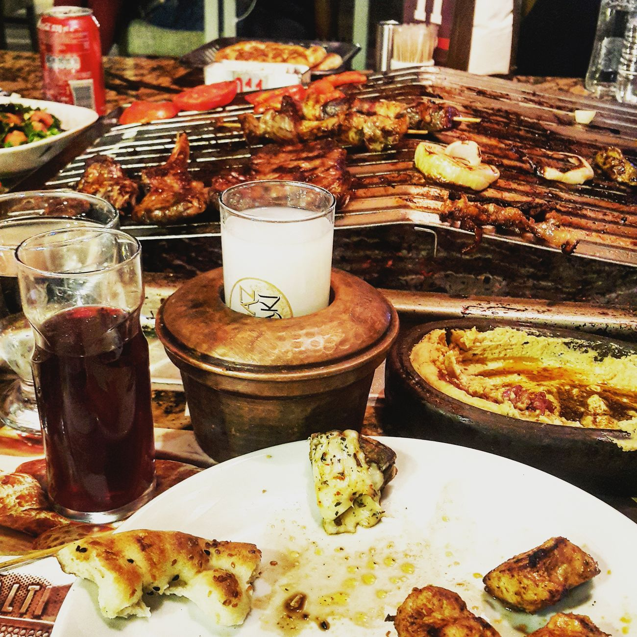 Rakı Candır Turkish Raki Hello World Mangalbasi Steakhouse Salgam