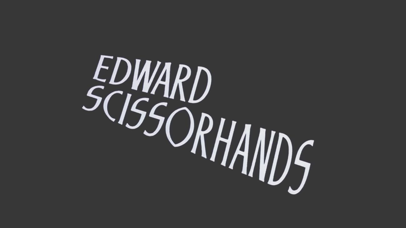 ❤️❤️❤️ Edward Scissorhands Tim Burton Johnny Depp