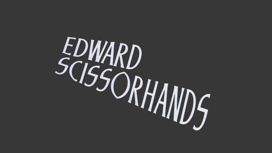 ❤️❤️❤️ Edward Scissorhands Tim Burton Johnny Depp