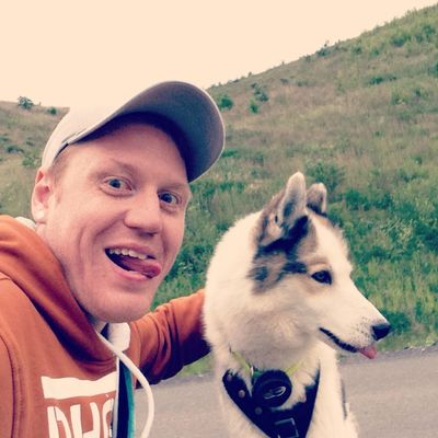 Crazyselfies Bergehalde, Landsweiler-Reden, Husky, Wheelchair-CaniCross Cani Cross Siberian Husky Husky