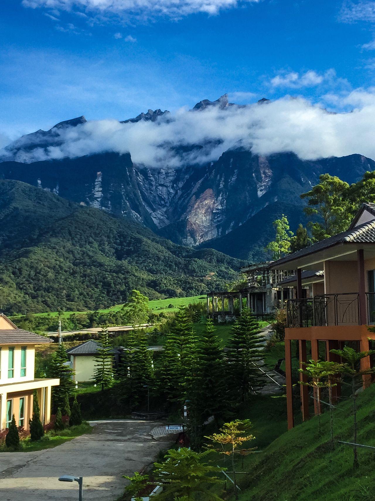 kampung di kaki gunung Kinabalu Footmountain Mountain View Mountain_collection Mount Kinabalu Sabah Borneo Scenic Amazing View Mothernature SimplyAmazing Best Destination UNESCO World Heritage Site The Photojournalist - 2016 EyeEm Awards The Great Outdoors - 2016 EyeEm Awards