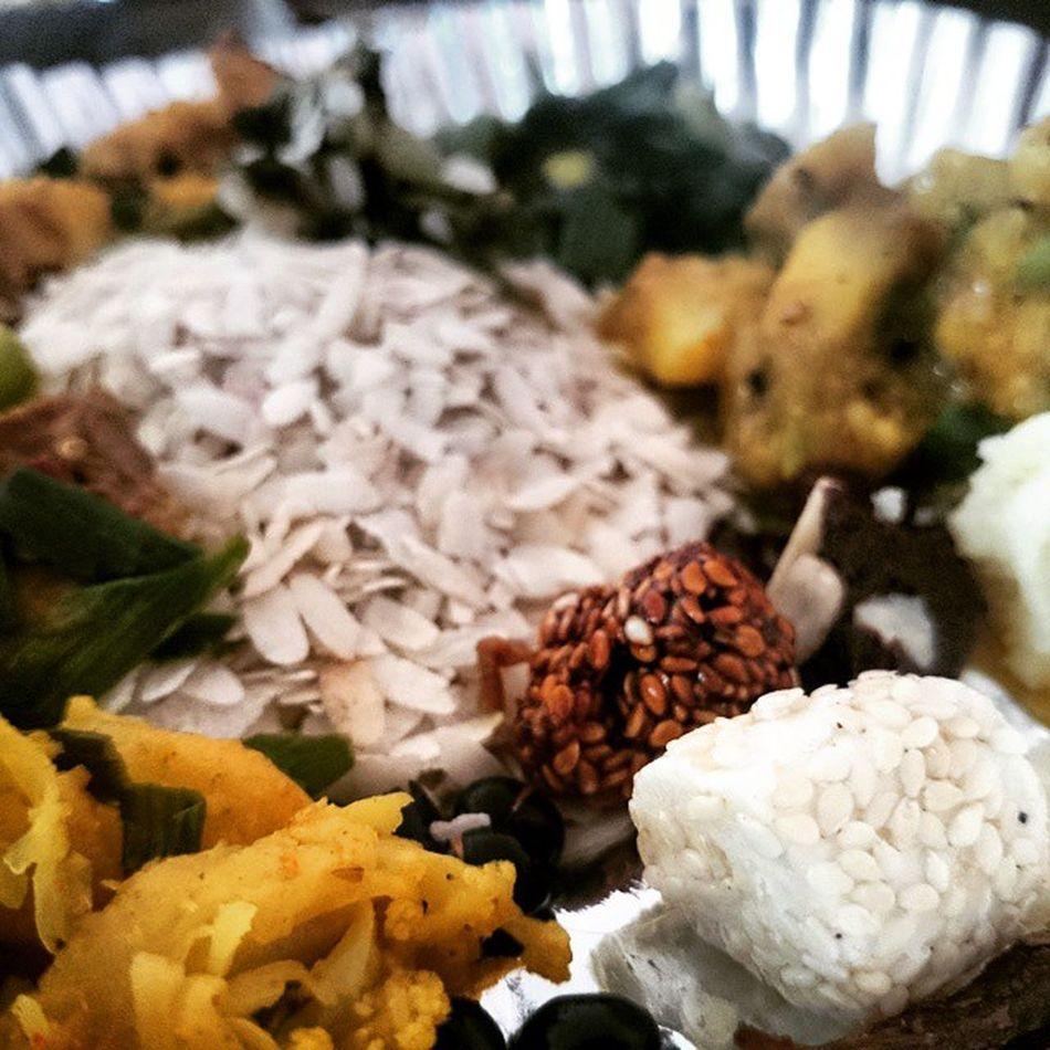 घ्यःचाकु संल्हु Celebration in Winter with Food Foodporn Nepal Nepali  Newari