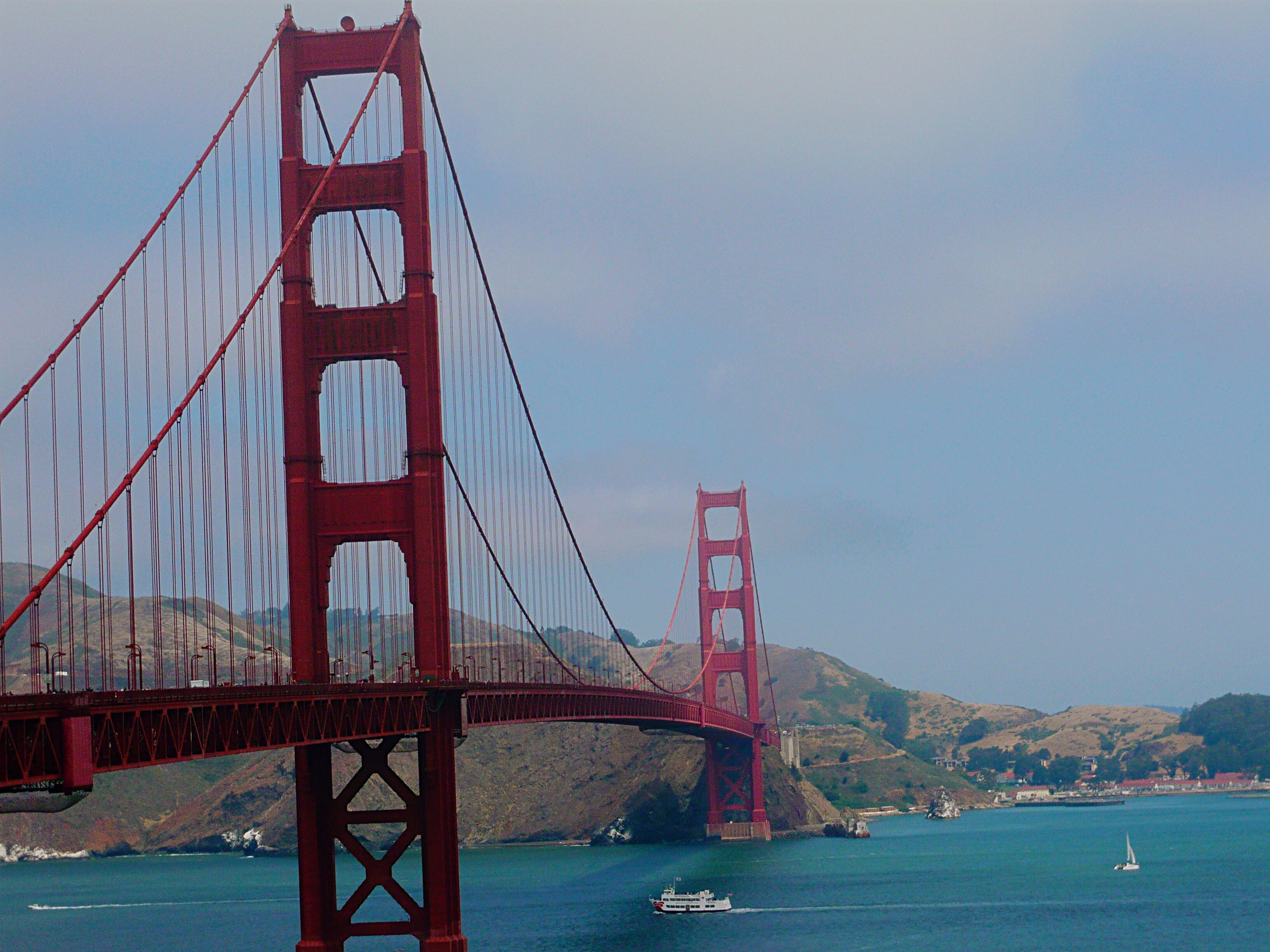 San Francisco Bridge America Brücke