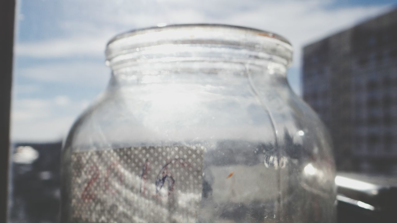 Transparent Reflection Close-up Cloud - Sky Climate Change Science Cold Temperature No People Outdoors Day Alternative Energy Jar EyeEm Tula, Russia Russia россия Architecture Russia Communication Brick Wall
