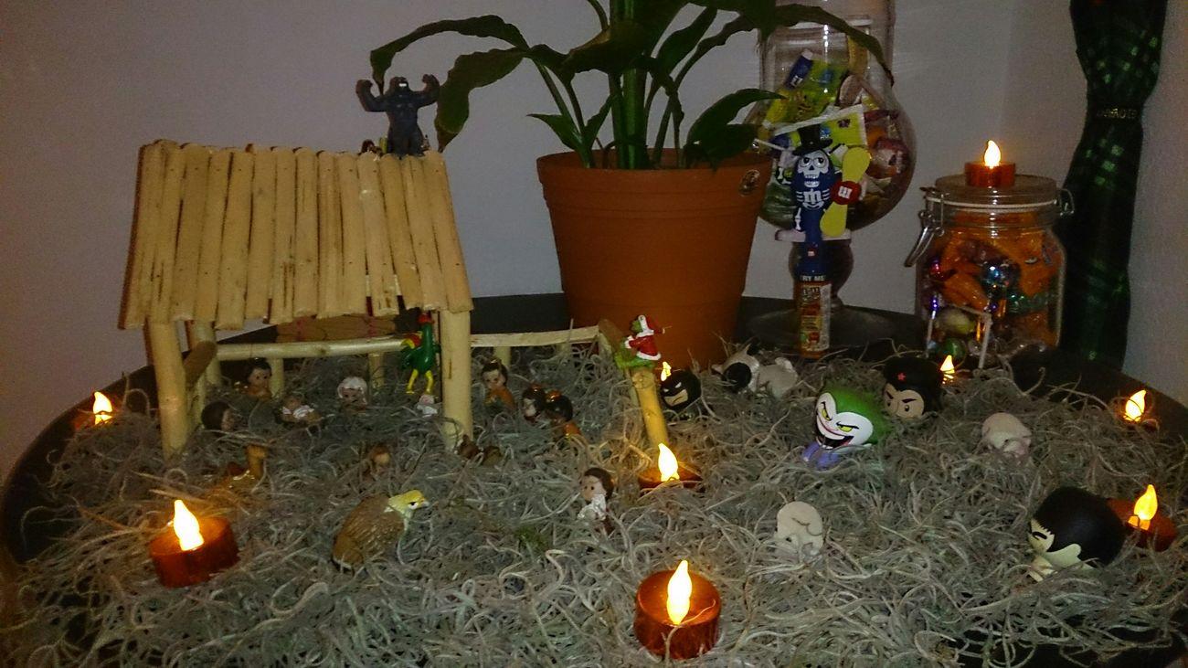 Listo Nacimiento Navidad Merry Christmas Batman Joker King Kong