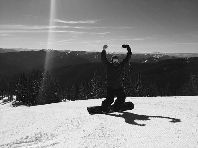Shredded the slopes 👊🏼🌨