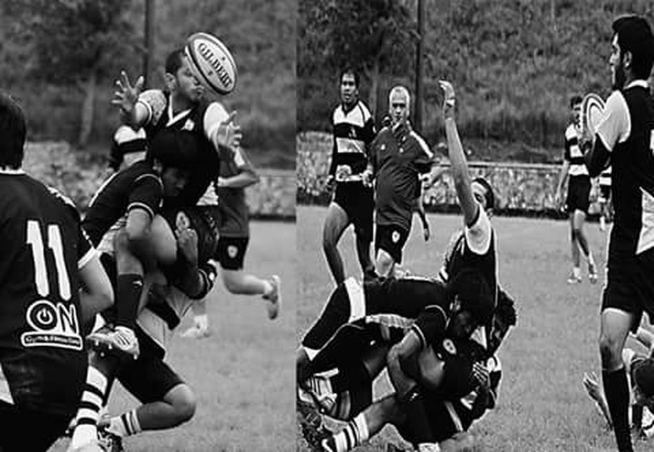 Crx ! Rugby Offload That's Me