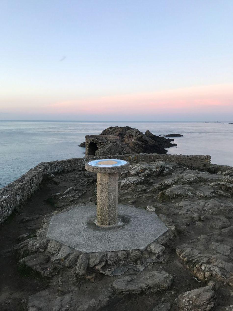 Bretagne Pointe  Sea Nature Tranquil Scene