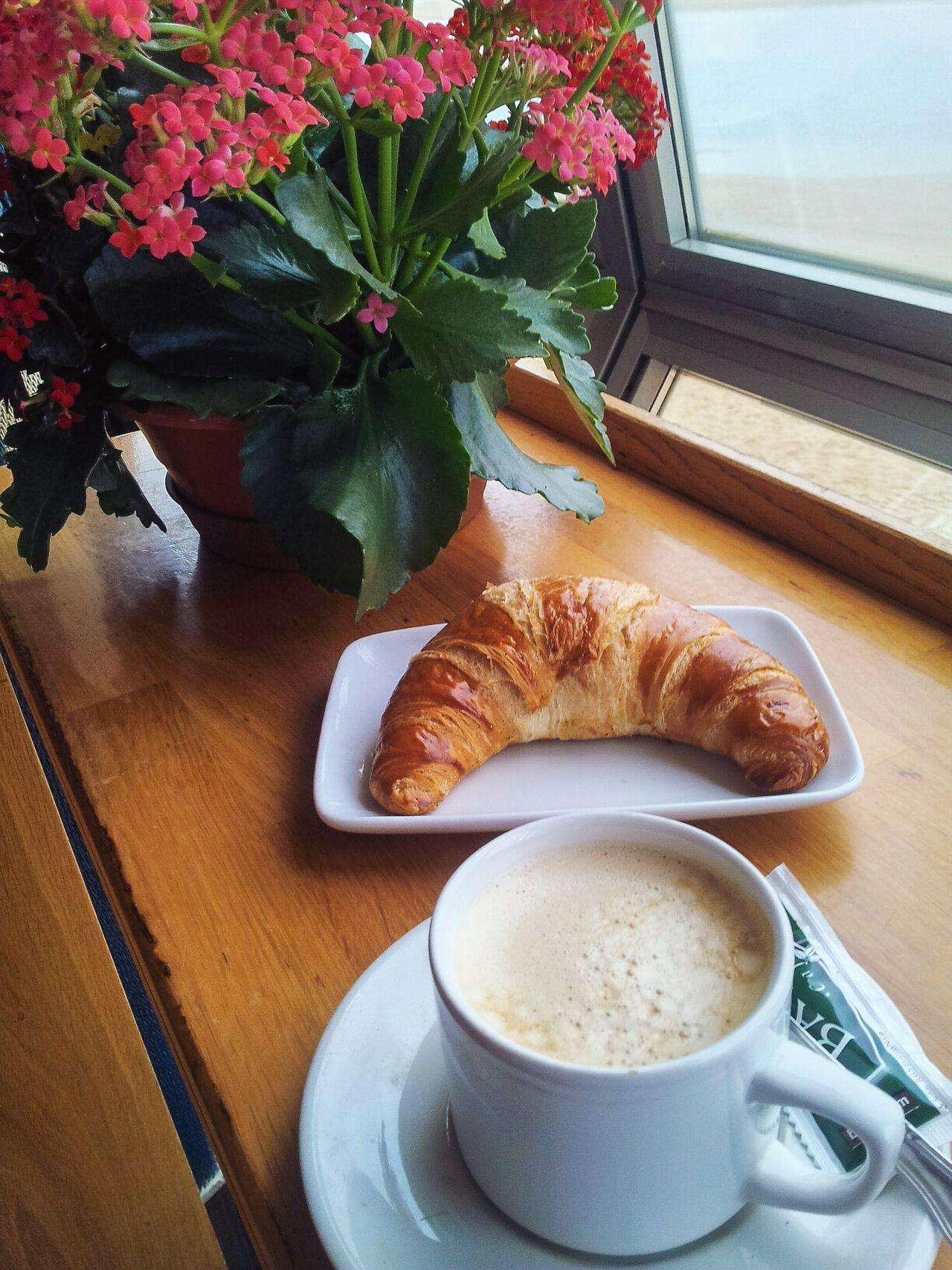 Beautiful stock photos of breakfast, Breakfast, Coffee - Drink, Croissant, Day