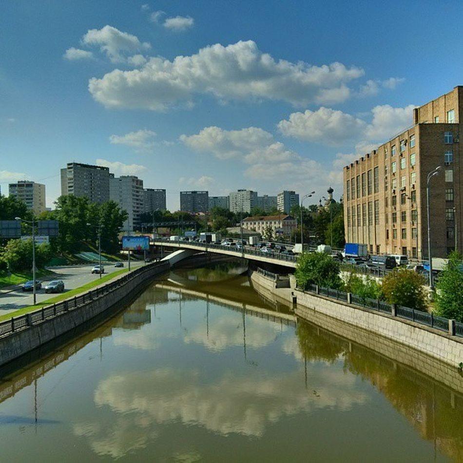 Река  Яуза Moscow Yauza river ttk
