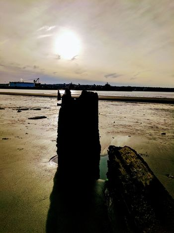 Photography Themes Water Sky Sea Nature Beauty In Nature Sunset Outdoors Cloud - Sky Beach Seaside SeattleLife Washingtonstate Pacificnorthwest Rocks Beach Photography Freshness
