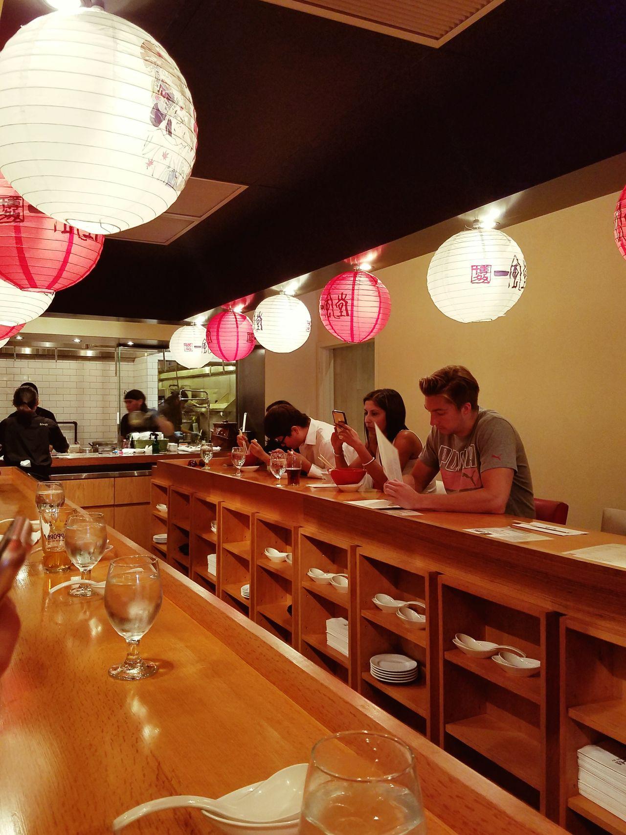 sunday brunch Ippudo Ramen Japanese Food Hells Kitchen  Sunday Brunch Ramen Paper Lanterns