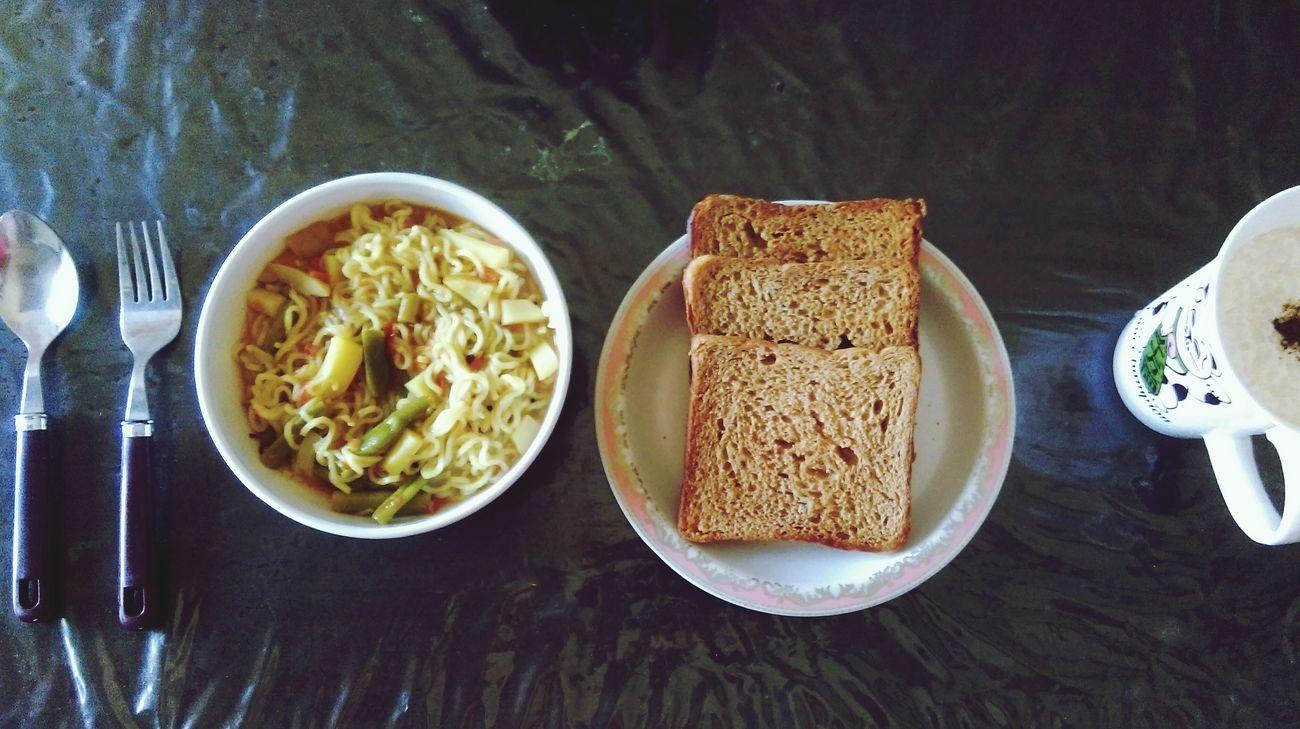 Maggi Morning Breakfast Receipe