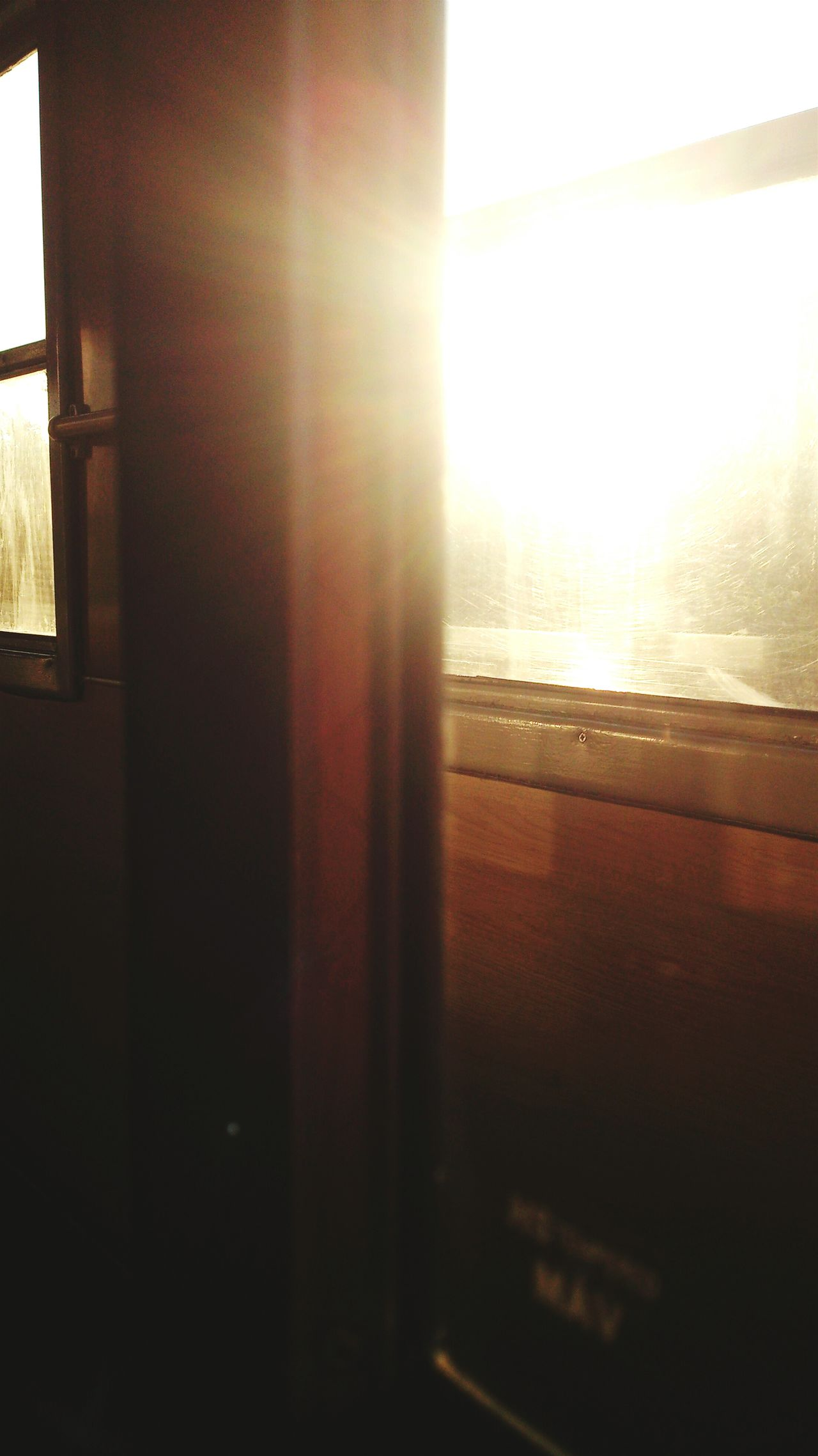 Sunlight through the Window of a Train . Sun Sunset Sunset_collection Sunshine Sunbeam Sunny Sunrise_sunsets_aroundworld Sunsets Sunshine ☀ Windows Window View Window Light Train Interior Hungarianphotographer Hungaryculture Hungary Photos Hungarylife Hungary Love Hungary I <3 You Hungarian_photographers Hungary Culture Hungary