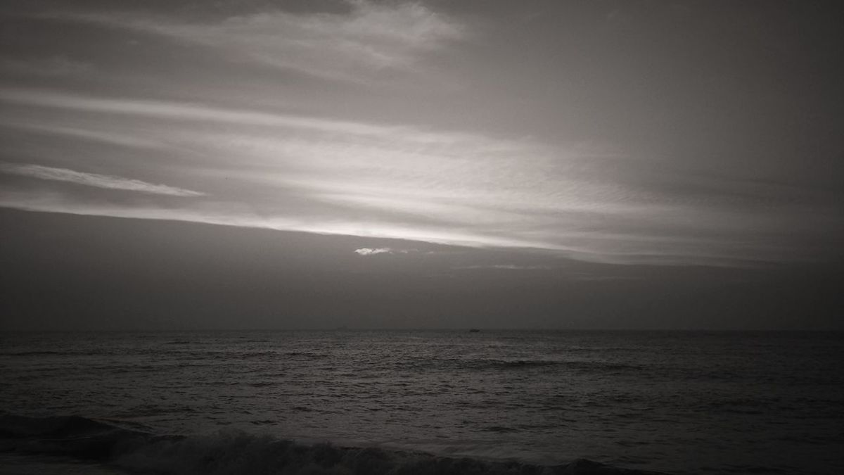 Monochrome dusk First Eyeem Photo Sunset Senset View Sunset_collection Monochrome World