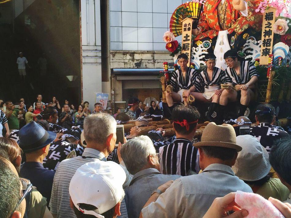 山笠 Yamakasa Nakasu Japan Japan Photography Japanese  Yamakasa Festival Mixed Age Range Large Group Of People 群衆