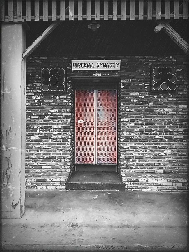 Black&white Chinatown Imperial Dynasty Door