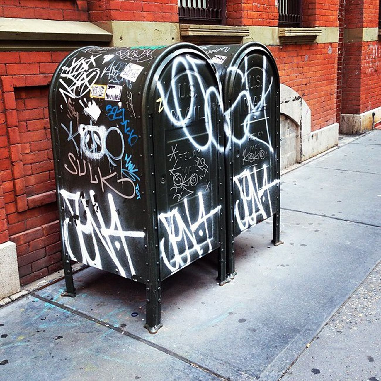 NYC NYC Photography NYC Street Photography Mailboxes Streetart Graffiti Art