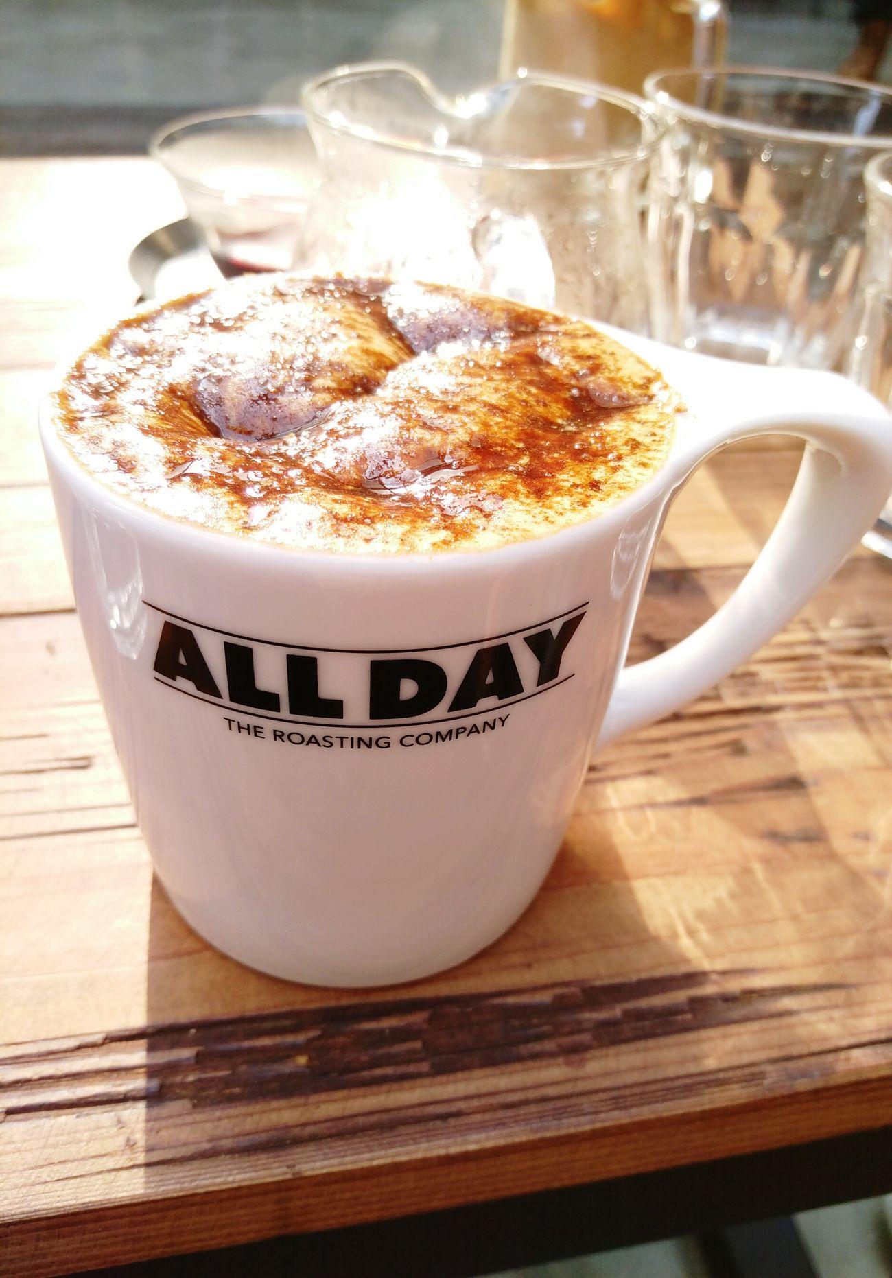 The best brown sugar latte in Taipei. Brownsugarlatee Coffee Adrc Latte