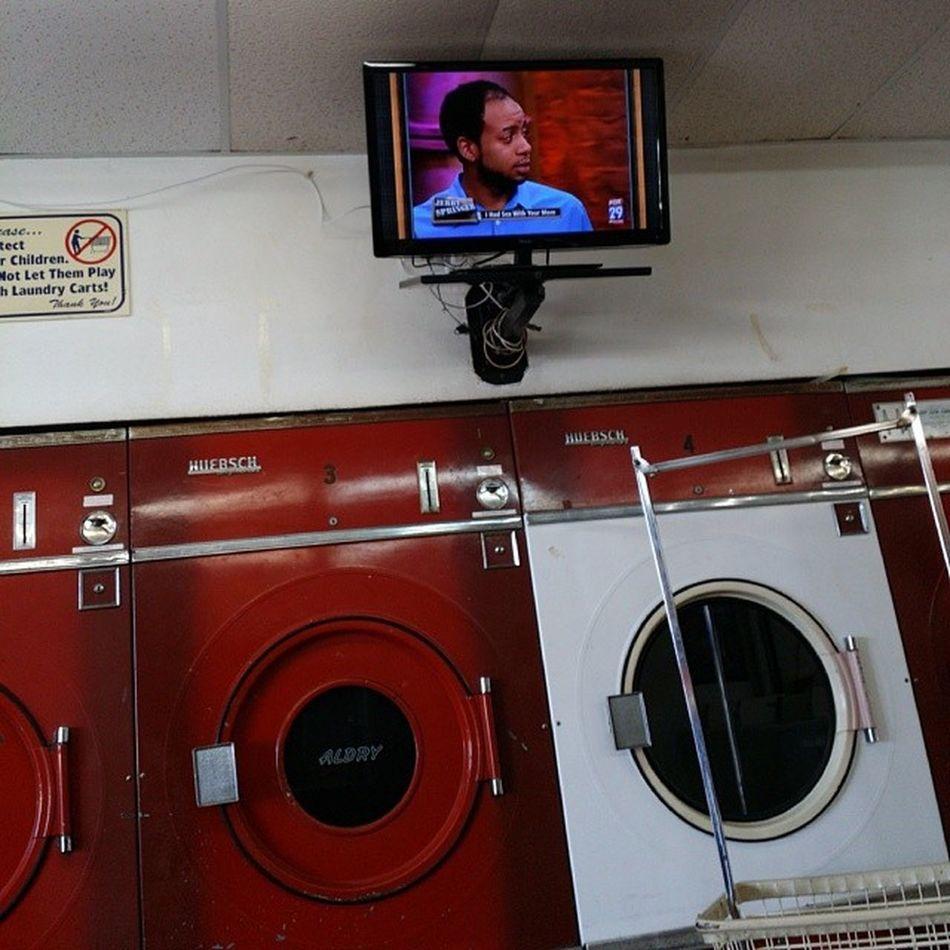 Jerry at the laundromat... BaldSpotSwag Balding