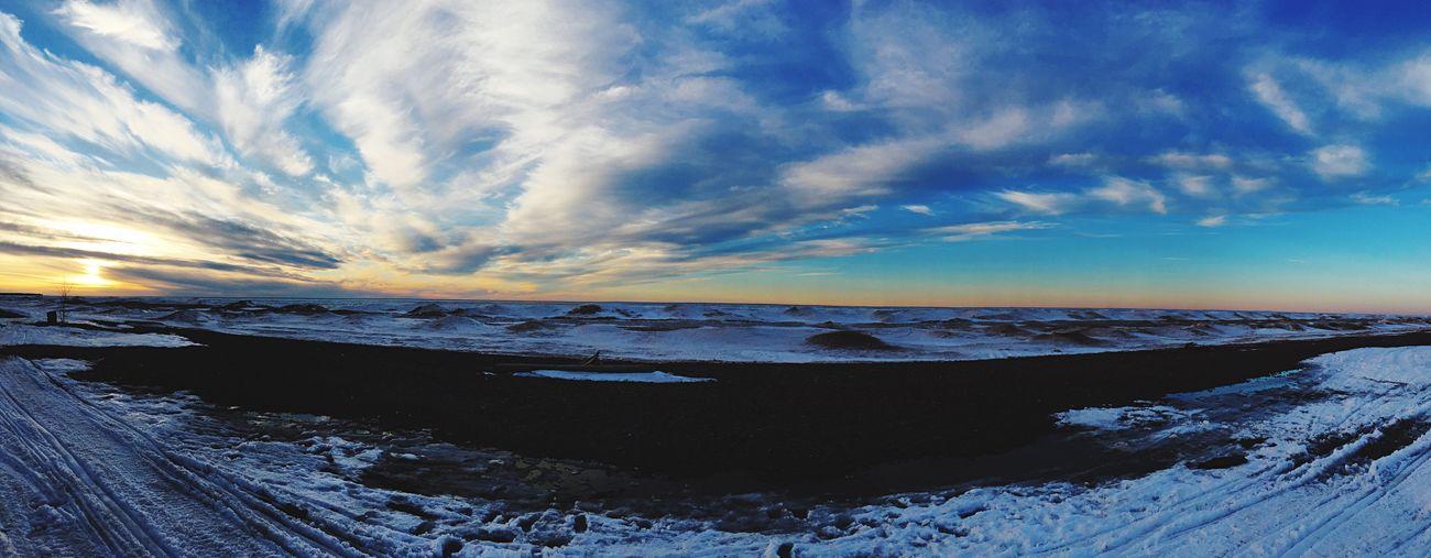 Winter Sunset Cloud First Eyeem Photo