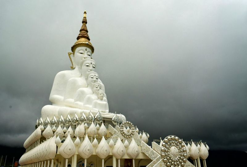 Budha Statue No People Day Outdoors Sky Cloud - Sky Statue Travel Destinations History Budha Holy Thing