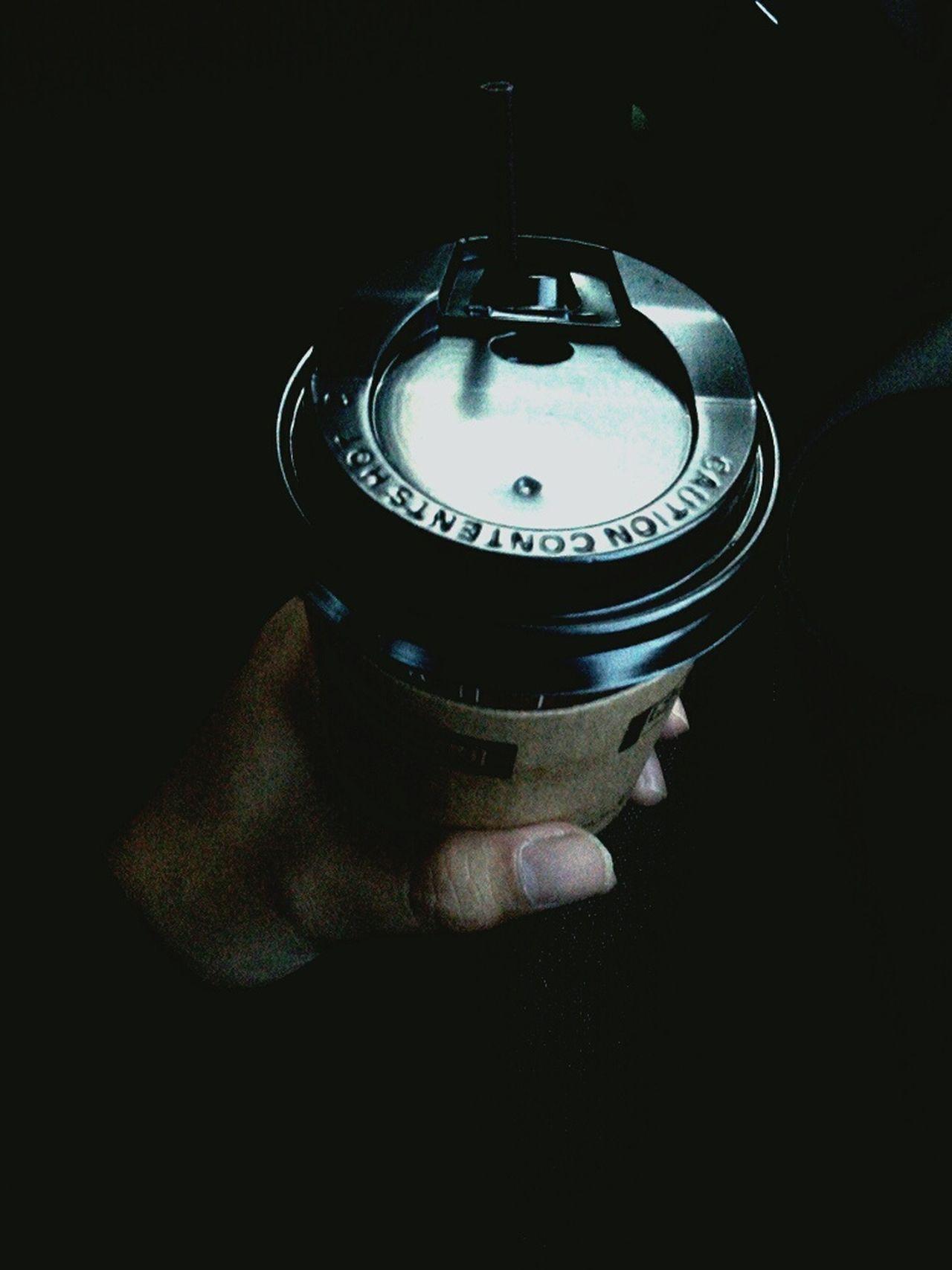 Coffee Lifestyles Close-up Black Background People Human Hand First Eyeem Photo