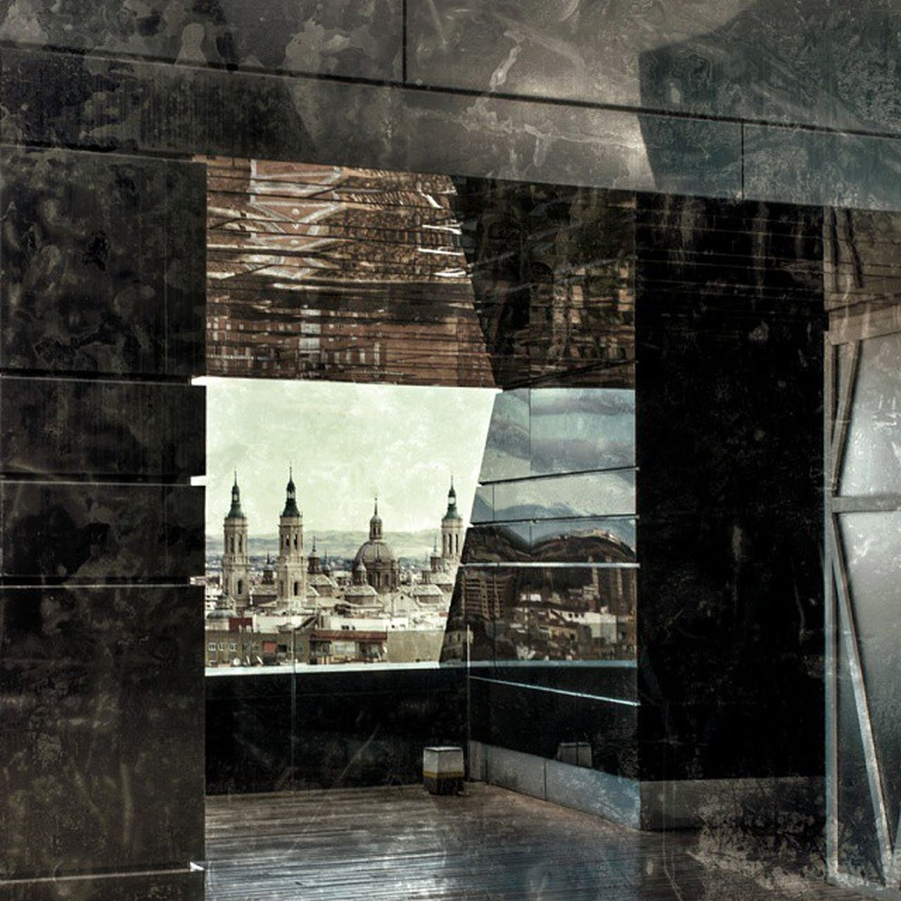 La arquitectura,al igual que la fotografía ,es el juego sabio, correcto y magnífico de los volúmenes bajo la luz. MuseoPabloSerrano Zaragoza Igersaragon Igerszgz