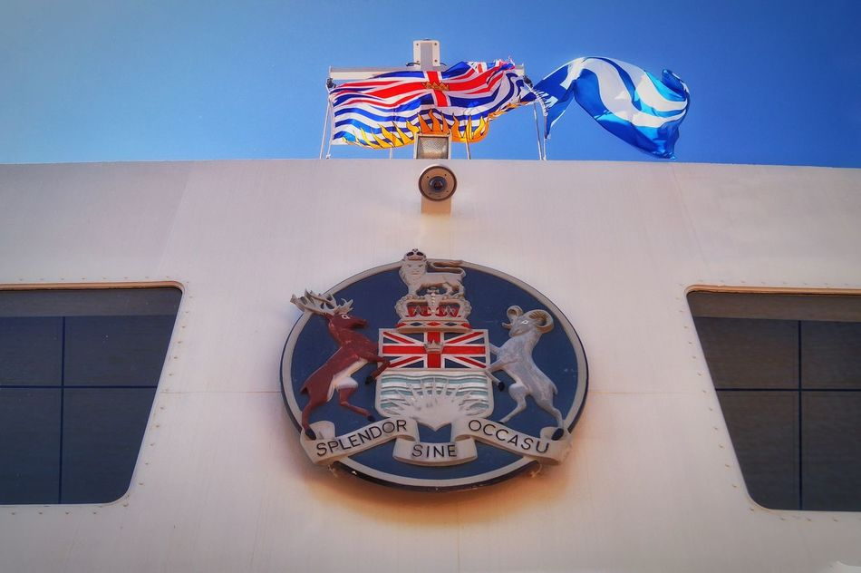 Queen of Capilano Horseshoe Bay BC Ferries Beautiful British Columbia Summer Ferry Sunny Day Bowen Island